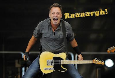 Wailing Canadian Banshee Bruce Springsteen