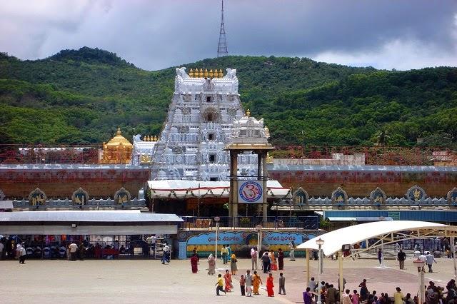 Sri Venkateswara Swamy Vaari Temple in Tirupati,Andhra Pradesh