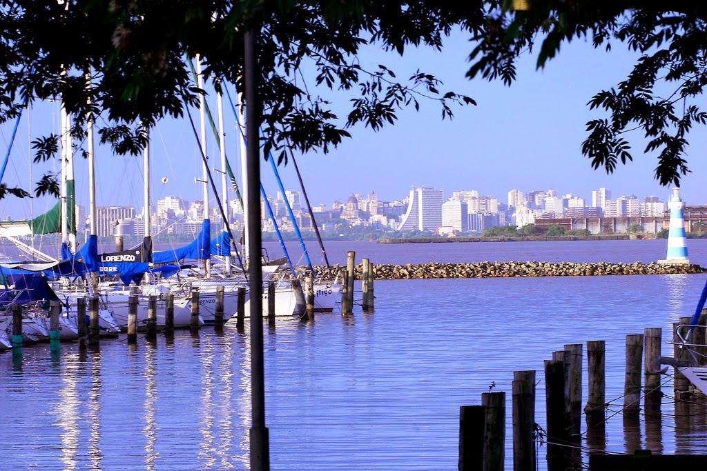 Porto Alegre vista da zona sul