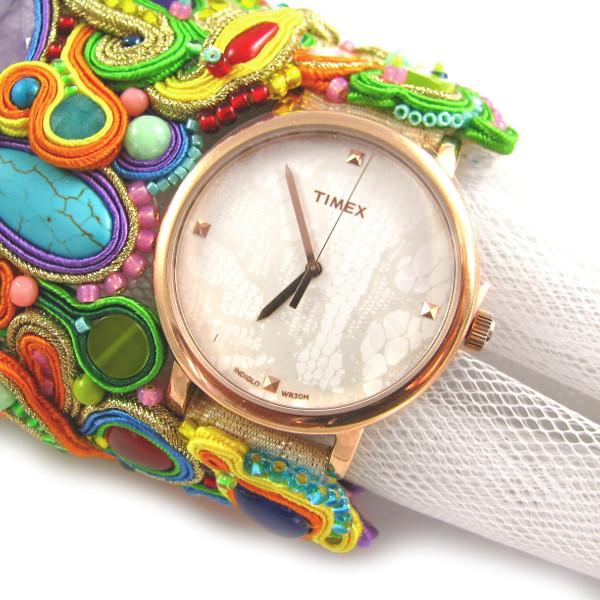 sutasz z zegarkiem, mankiet