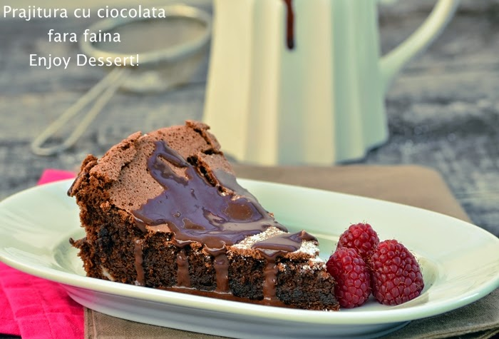 Prajitura de ciocolata fara faina