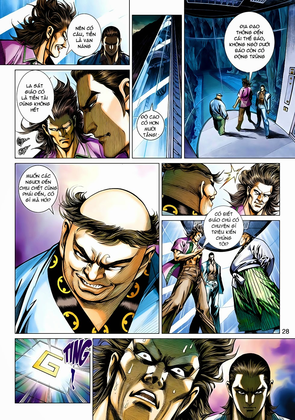Tân Tác Long Hổ Môn chap 470 - Trang 28