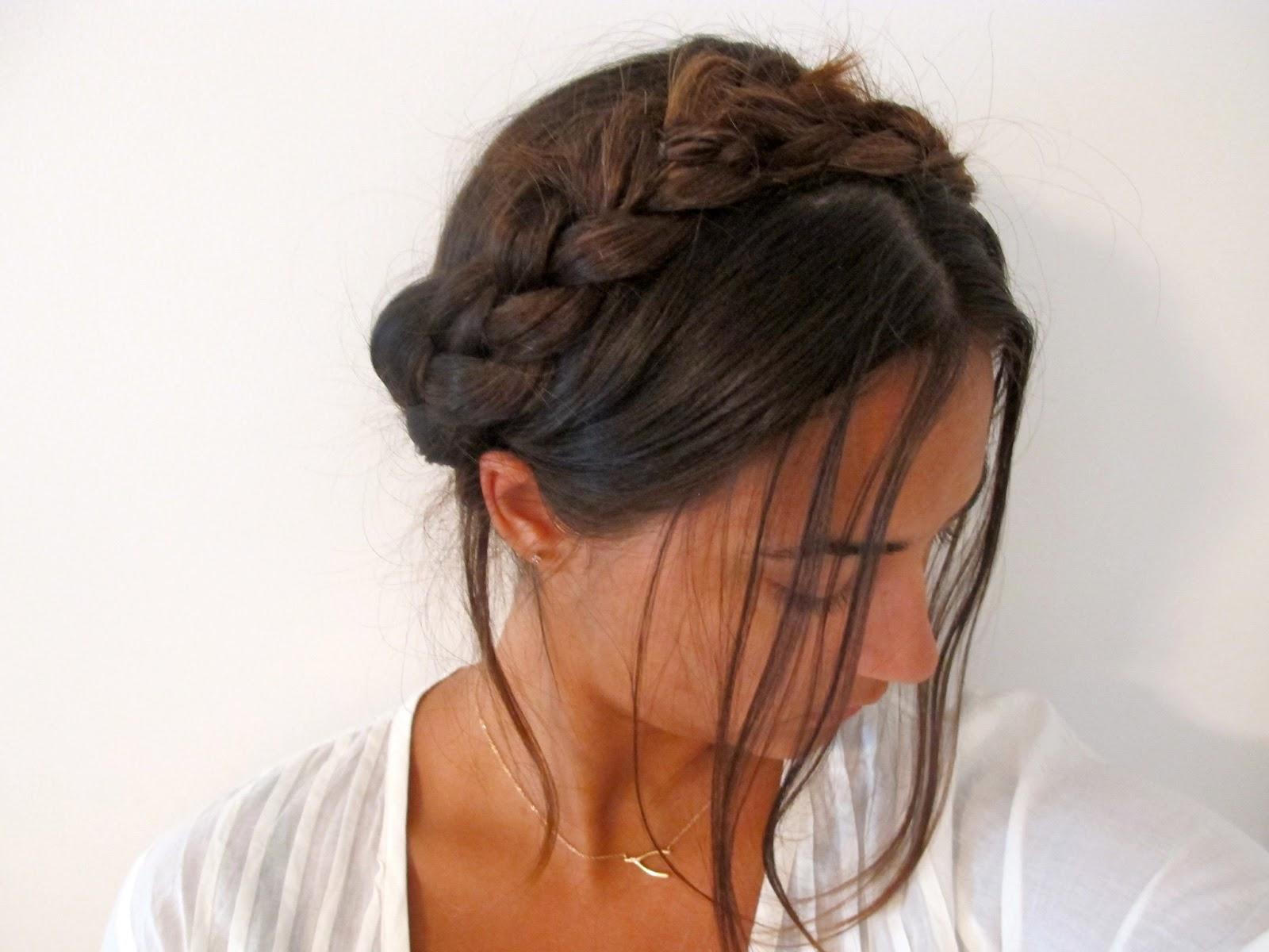 milkmaid braids with weave alexandra rosaria milkmaid braid