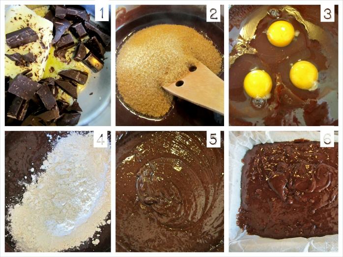 Brownie con frutos secos - Esturirafi - http://esturirafi.blogspot.com.es/