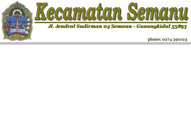 KecamatanSemanu.com