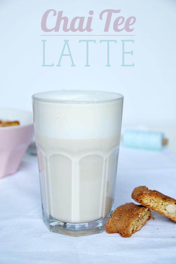 Chai Tee Latte Rezept selbermachen