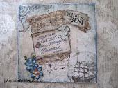 HC med text från Vilda Stamps