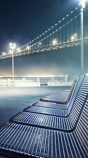 download Bridge lounge chair iPhone 5 HD wallpaper 2013