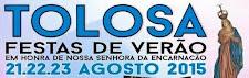 TOLOSA: FESTAS DE VERÃO 2015