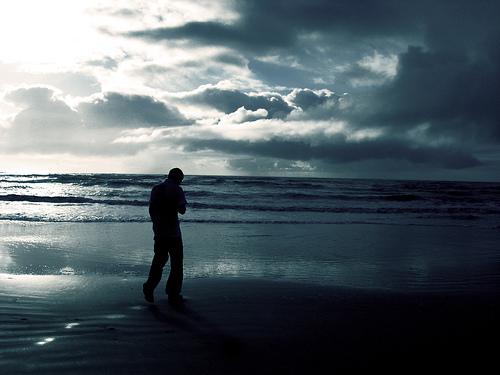 Andando pela saudade onde as mares me lan�am