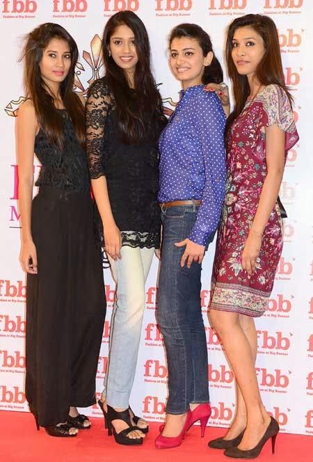 Femina Miss India Beauties @Ameerpet Big Bazaar