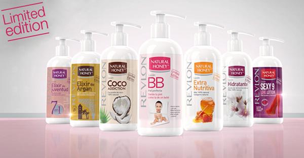 loción corporal Natural Honey para hidratar nutrir la piel