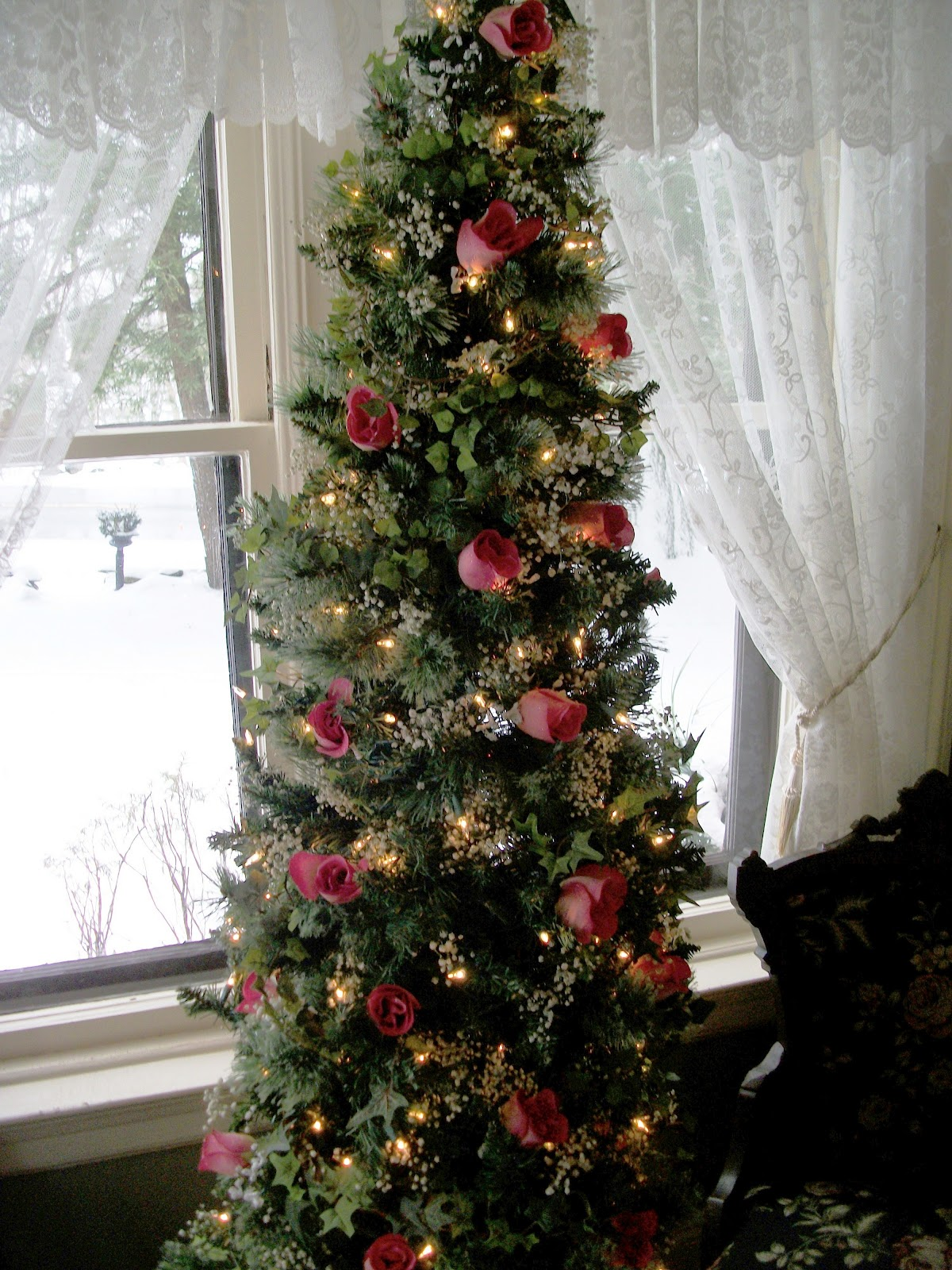Writing straight from the heart share the beauty of a for Year round christmas tree