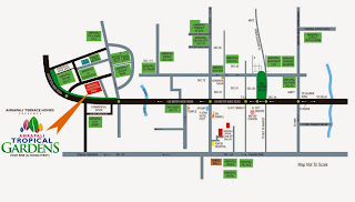 Amrapali Tropical Garden :: Location Map