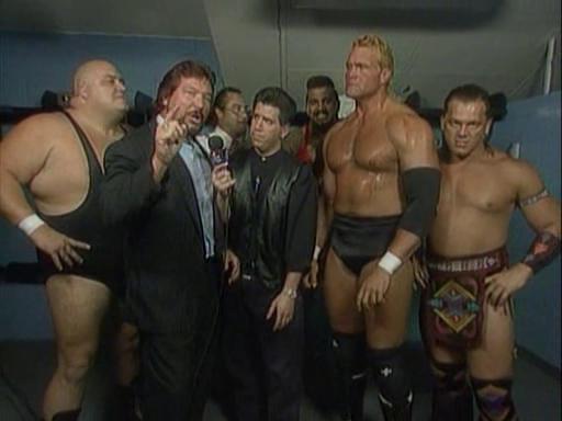 WWF / WWE - In Your House 2 - The Lumberjacks - Todd Pettengill interviews the Million Dollar Corporation