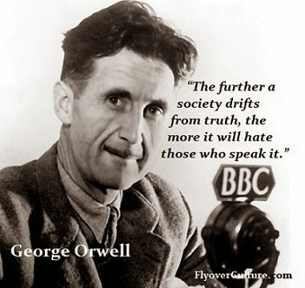 Eric Arthur Blair aka George Orwell
