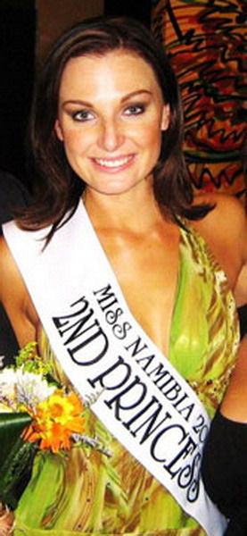 25 year-old Susan van Zyl has been selected Miss Supranation Namibia 2011 - She will represent Namibia at the 2011 Miss Supranational pageant