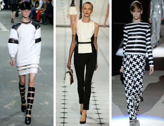 Model Trend Style Black and White 2013