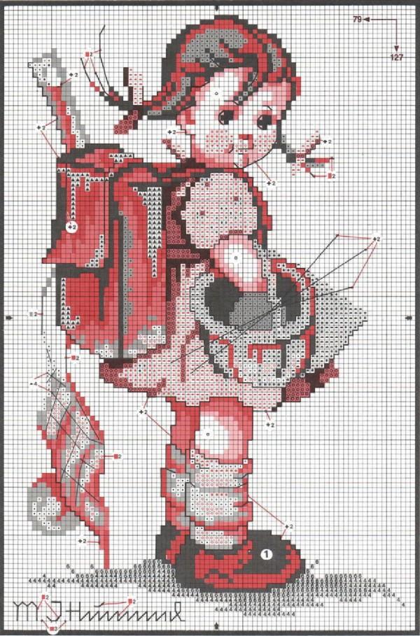 Схемы вышивок на компьютер