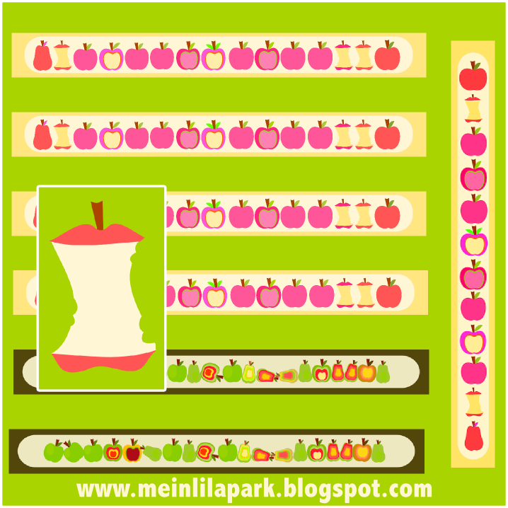 ... spring colors and cheerful design. So I created these free printable