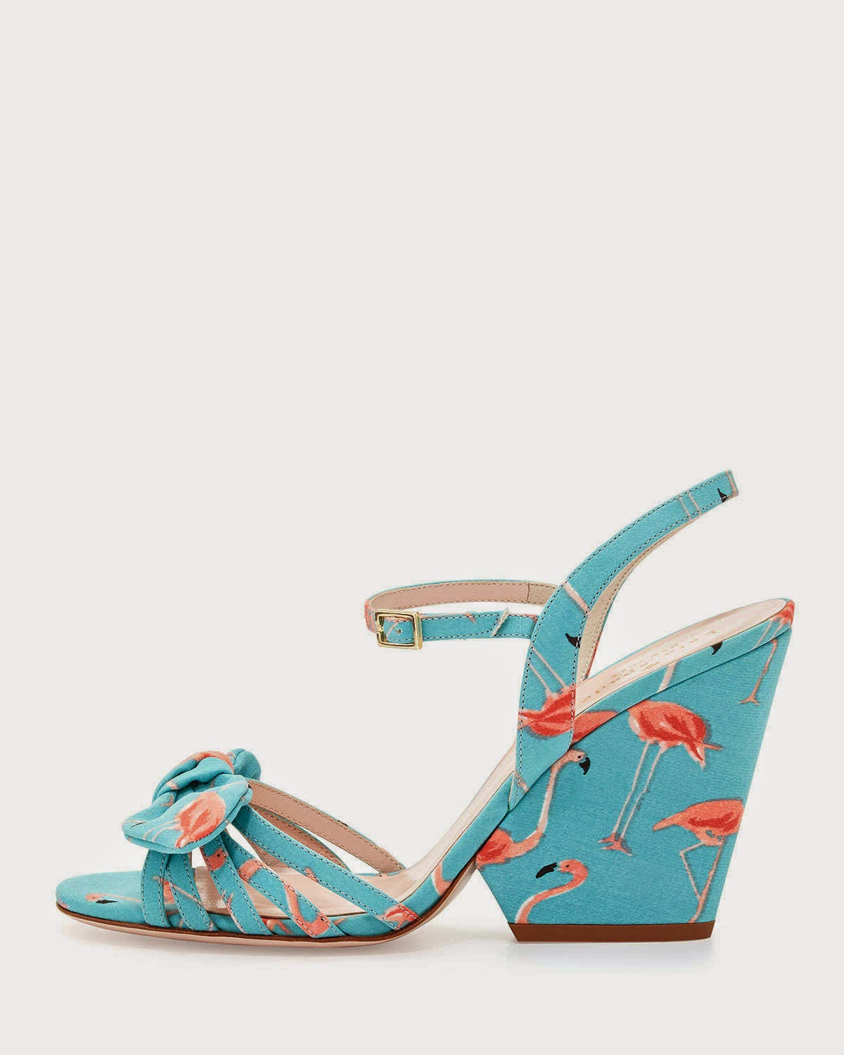 Kate Spade Flamingo Wedges
