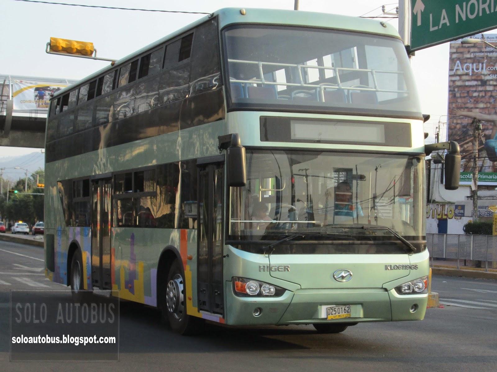 Soloautobus higer de dos pisos ruta 25 - Autobuses de dos pisos ...