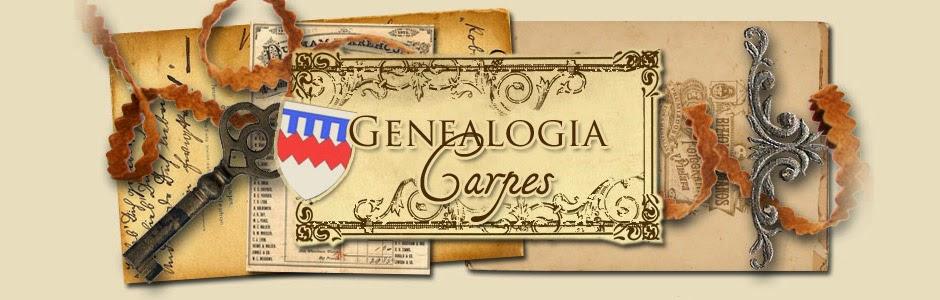 GENEALOGIA CARPES