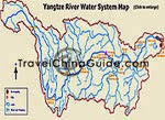 Yangtze River Water System Map