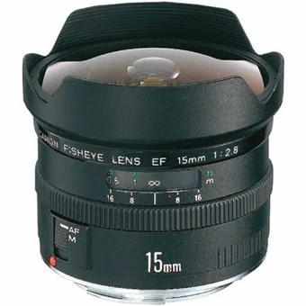 Spesifikasi dan Harga Lensa Canon EF 15mm f/2.8 Fisheye Terbaru