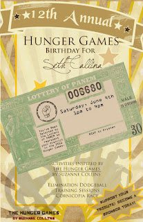 hunger games invitation etsy