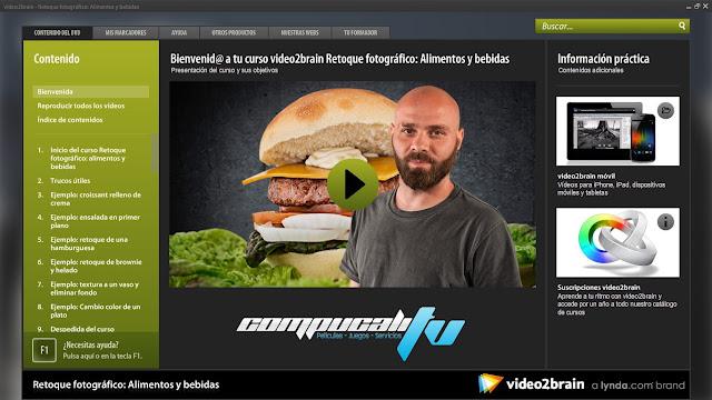 Curso Video2Brain: Retoque fotográfico: Alimentos y bebidas