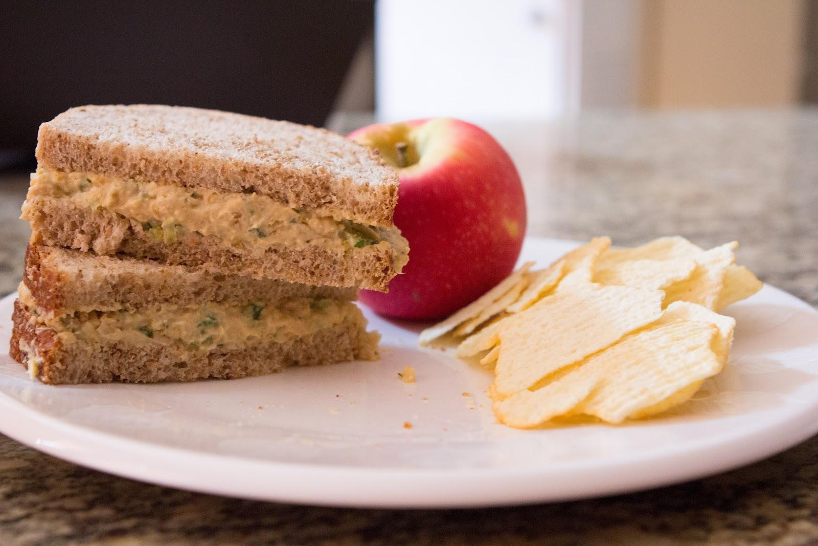 VEGETARIAN CHICKPEA SANDWICH SPREAD