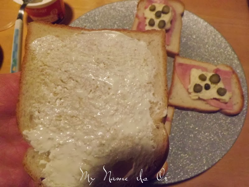 My name is or croque monsieur au coulommier - Croque monsieur au four creme fraiche ...