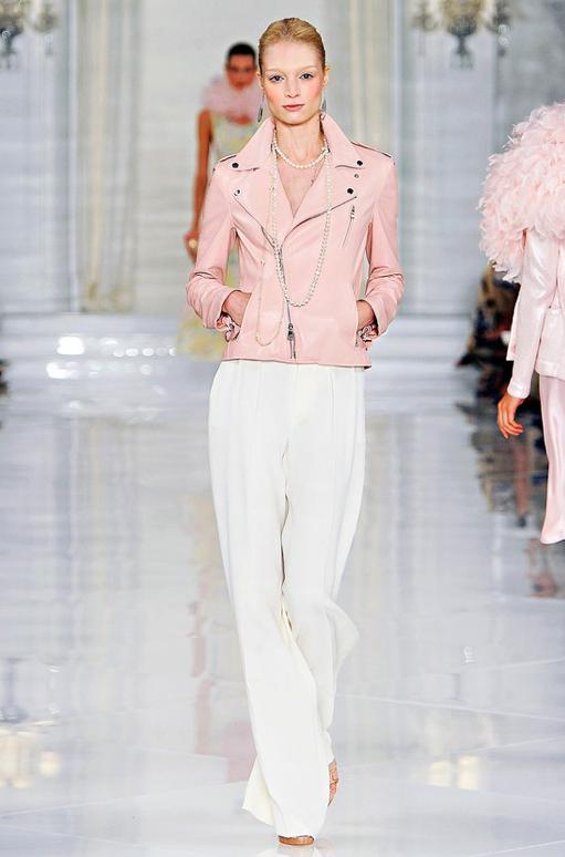 Pastel Pink Leather Jacket - My Jacket
