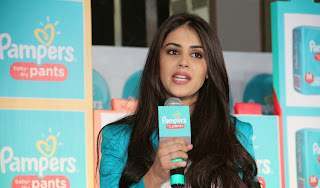 Genelia Latest Pictures in Jeans at Pampers Pants Promotion ~ Bollywood and South Indian Cinema Actress Exclusive Picture Galleries