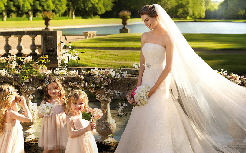 Платье кружевное прованс la sposa модель sinderella цена снижена2