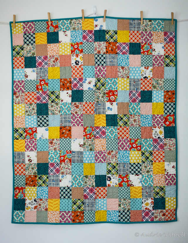 Blue is Bleu: DS Patchwork Baby Quilt : baby patchwork quilts - Adamdwight.com