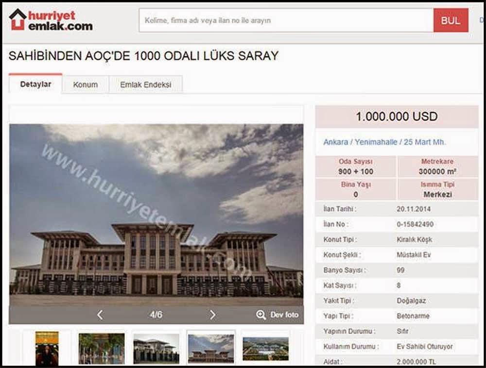 AK Saray satılık emlak ilanı Hürriyet Emlak