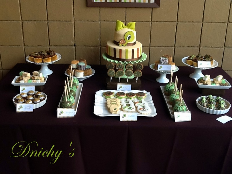 Dnichys Cakes and Cookies: Tortuga {Turtle} Baby Shower