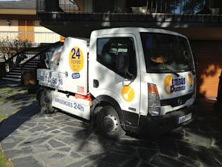 Servicios con camión cuba