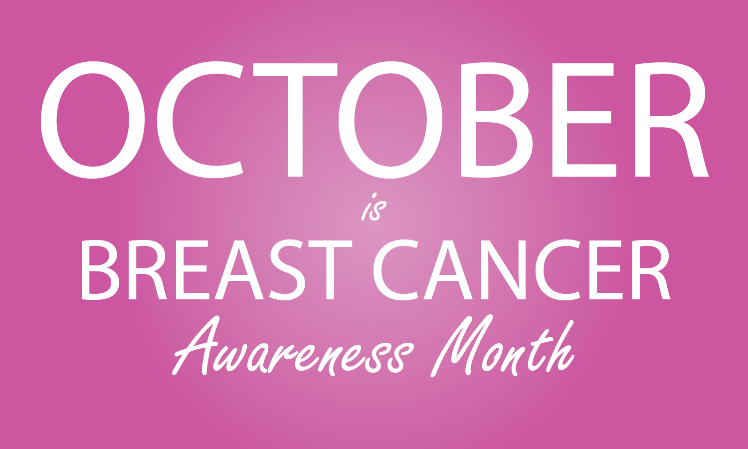 October national breast cancer awareness