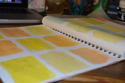 Creating my own DIY calendar & art journal
