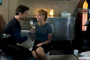 Pepper Potts and Tony Stark. Their relationship is pretty much my ideal .