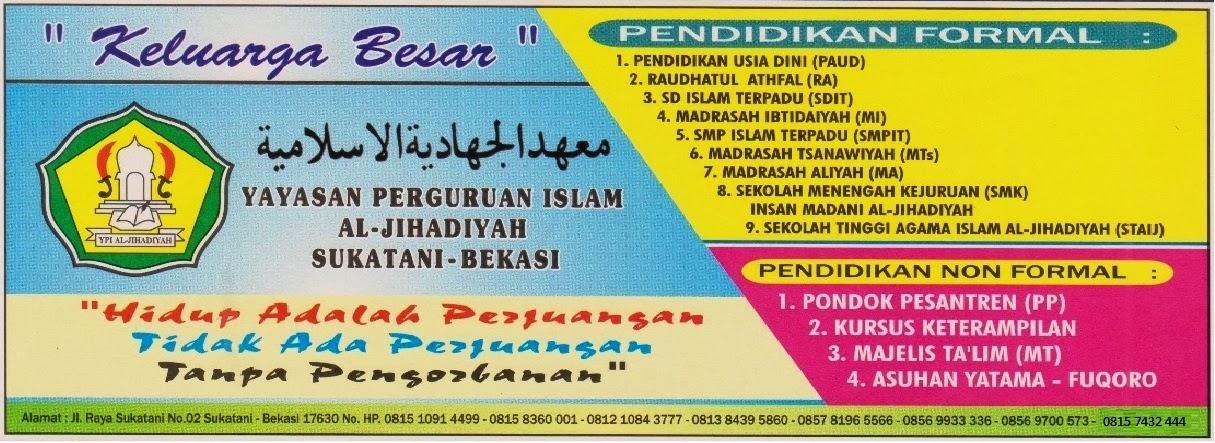 YAYASAN PERGURUAN ISLAM AL-JIHADIYAH