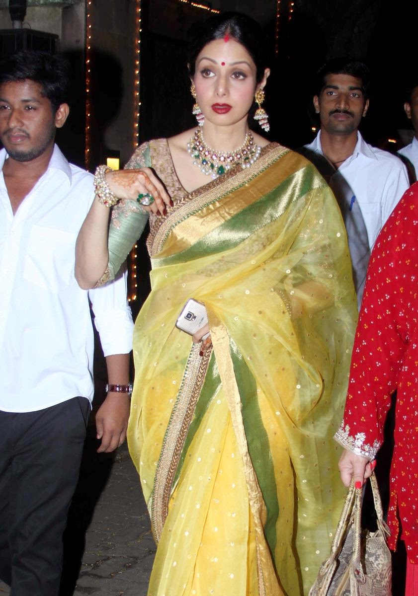Indian actress saree