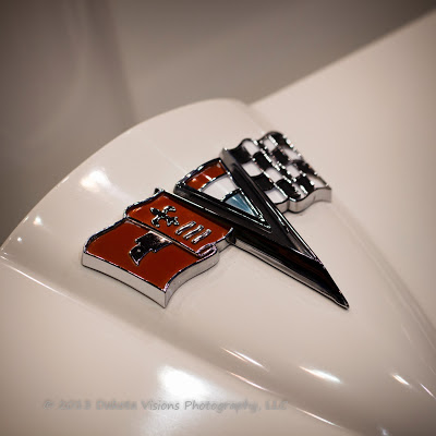 Counts Car Show in Rapid City, SD - Corvette hood emblem