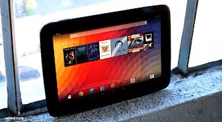 nexus 10 tablet release date