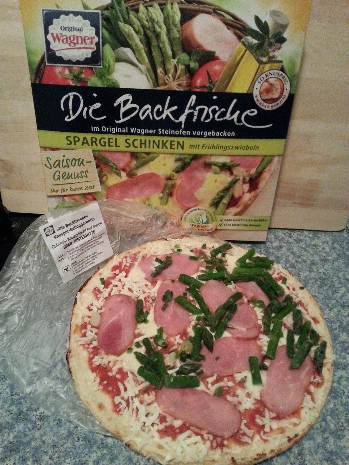 pizza spargel schinken