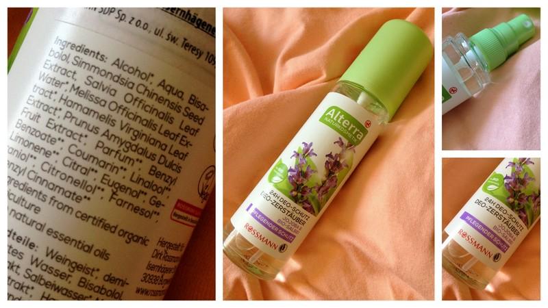 Naturalny dezodorant w sprayu