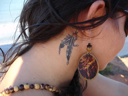 girl tribal tattoo. Hot Girls Tattoo The